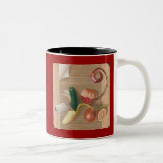 Peeling Back the Layers Two-Tone Coffee Mug
