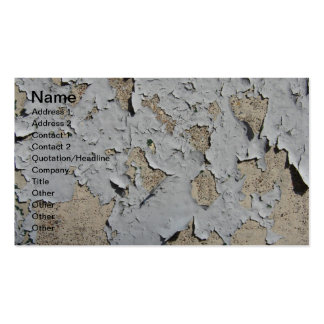 Peeling Blue Paint Double-Sided Standard Business Cards (Pack Of 100)