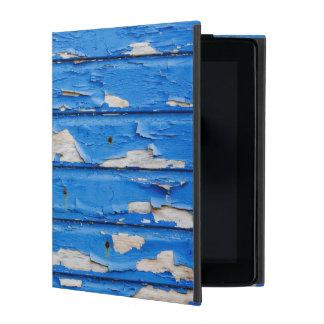 Peeling Blue Paint iPad Folio Cases