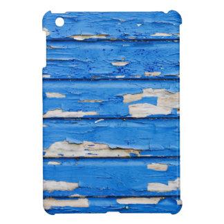 Peeling Blue Paint iPad Mini Cases