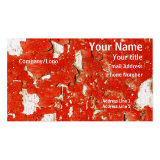 Peeling Paint Business Card