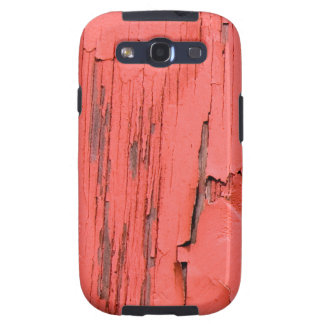 Peeling Paint Look Cell Phone Cover Galaxy S3 Cases