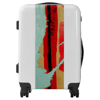 Peeling Painted Paper Art - Cool - Unique Luggage