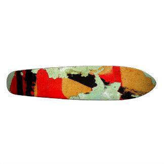 Peeling Poster Skateboard Deck