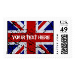 Peeling Union Jack Flag of The UK Postage
