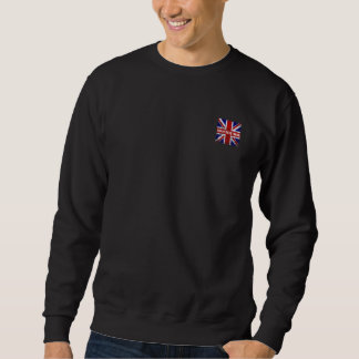 Peeling Union Jack Flag of The UK Sweatshirt