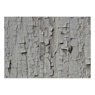 Peeling White Barn Paint Large Business Cards (Pack Of 100)