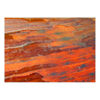 Peeling Wood Large Business Cards (Pack Of 100)