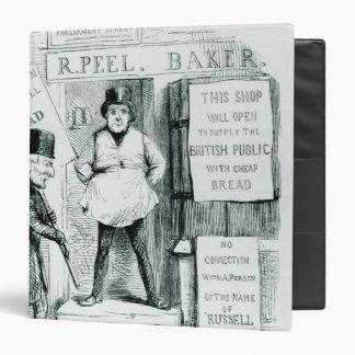 Peel's Cheap Bread Shop Vinyl Binder