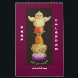 "Peep Calendar<br><div class=""desc"">peeps with nature hats on calendar for 2013</div>"
