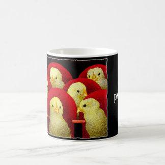 Peep show... classic white coffee mug