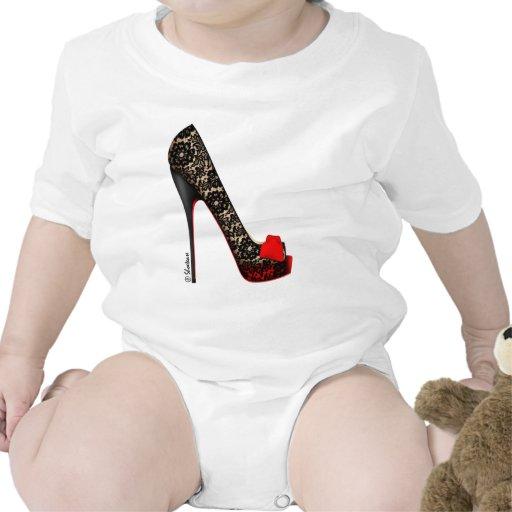 Peep Toe Platform Pump Baby Bodysuits
