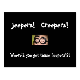 Peeper Postcard