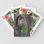 Peephole Garden Bicycle Card Deck