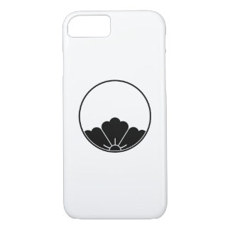 Peephole-view rhombic chinese flower in threadlike iPhone 8/7 case