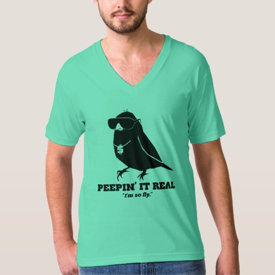 Peepin él real playera