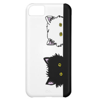 Peeping Kittens iPhone 5C Cases