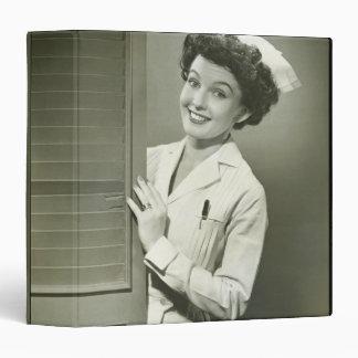 Peeping Nurse Binder