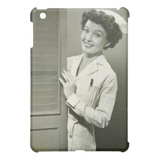 Peeping Nurse Cover For The iPad Mini