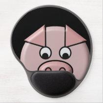 Peeping Pig Gel Mousepad
