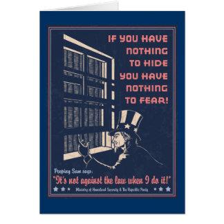 Peeping Sam Card