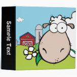 Peeping Sheep Farm 3 Ring Binders