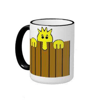 Peeping Tom Coffee Cup Coffee Mug