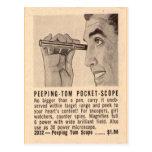 """Peeping Tom"" Postcard"