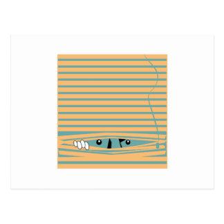 Peeping Tom Postcard