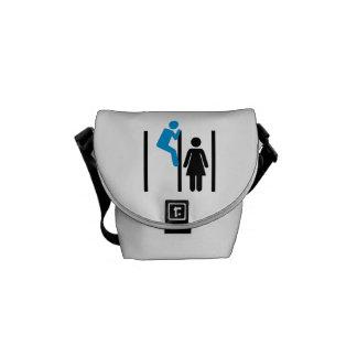 Peeping Tom Voyeur Messenger Bags