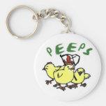 PEEPS Key Chain