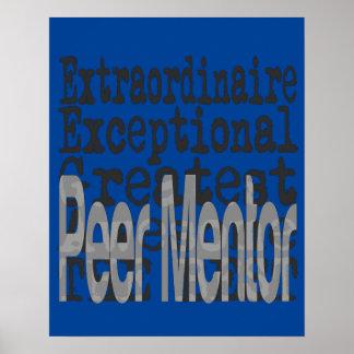 Peer Mentor Extraordinaire Poster
