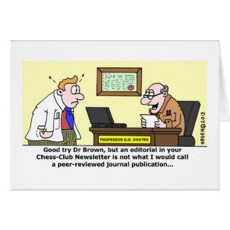 Peer-Reviewed Publication Greeting Card