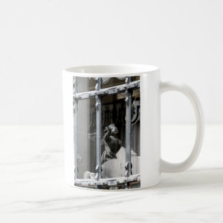Peering Out Classic White Coffee Mug