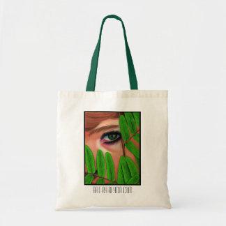 Peering Through the Leaves Bag