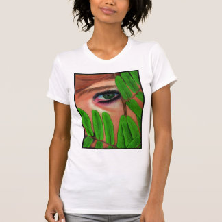 Peering Through the Leaves T-Shirt