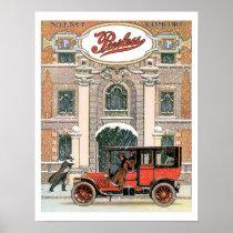 Peerless Automobile Vintage Art Print Poster