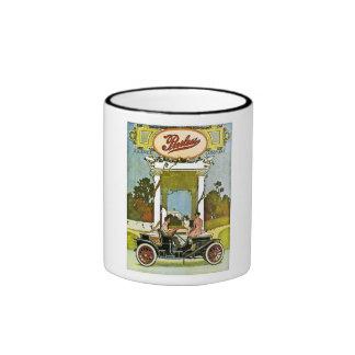 Peerless Motor Company - anuncio del vintage Tazas De Café