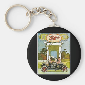 Peerless Motor Company - Vintage Advertisement Basic Round Button Keychain
