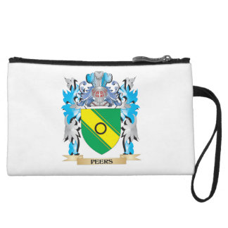 Peers Coat of Arms - Family Crest Wristlet Purse