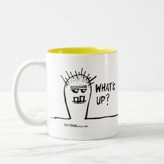 Peety Draws - What's Up? Coffee Mug