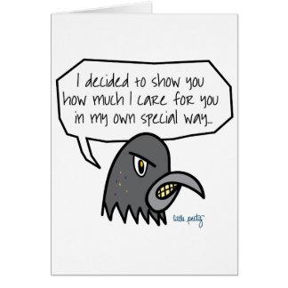 Peety Says Greeting Card