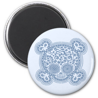 Peewee DOD -blue 2 Inch Round Magnet