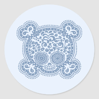 Peewee DOD -blue Classic Round Sticker