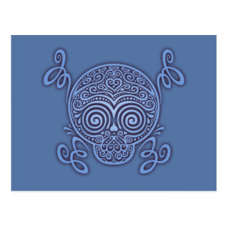 Peewee DOD II -blue Postcard