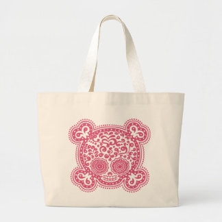 Peewee DOD -pink Large Tote Bag
