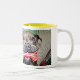 Peg aka Pig Two-Tone Coffee Mug