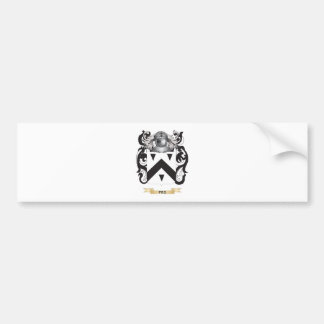 Peg Coat of Arms (Family Crest) Bumper Sticker
