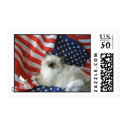 Peg Horne Nelson Cute Kitty Postage Stamps