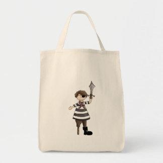 Peg-leg Pirate Canvas Bag